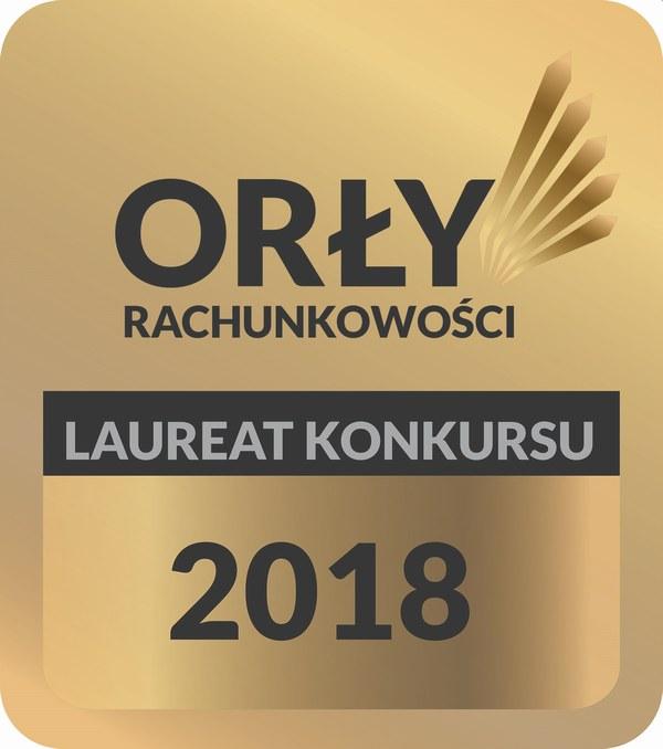 Orły Rachunkowości 2018 wyróżnienie dla AK-PLUS Biuro Rachunkowe Anna Klupczyńska